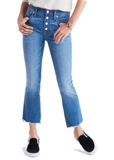 Madewell Cali Demi Boot Jeans (Fenton Wash)
