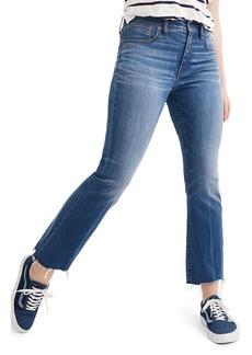 Madewell Cali Demi Boot Jeans (Haywood) (Short)