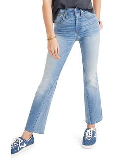 Madewell Cali Demi Boot Jeans (McKinney Wash)