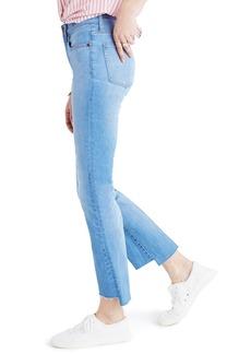 Madewell Cali Demi-Boot Jeans: Step-Hem Edition (Kingwood)