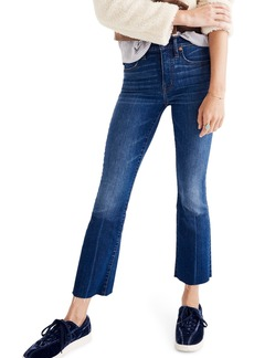 Madewell Cali Demi Boot Jeans (Wyoming Wash)