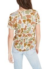 a8948ec0 Madewell Madewell Camo Print Whisper Cotton Crewneck Tee | Casual Shirts