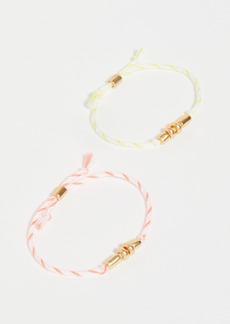 Madewell Campcraft Friendship Bracelet Set