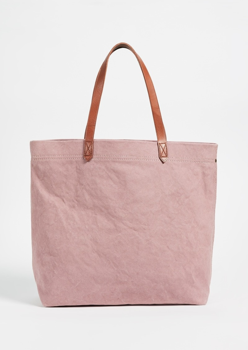 Madewell Madewell Canvas Transport Tote  b799af099a06f