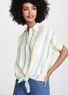 Madewell Carnival Stripe Button Down