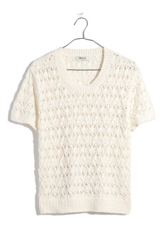 Madewell Carrington Short Sleeve Sweater