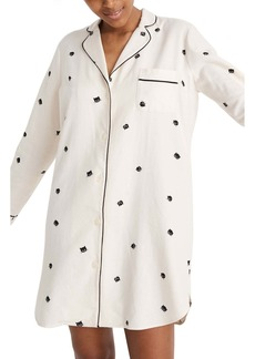 Madewell Cat Person Bedtime Nightshirt