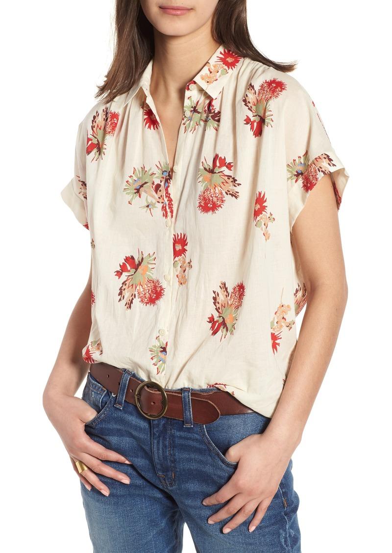 126689a679 Central Cactus Floral Shirt