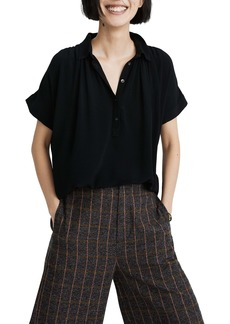Madewell Central Drapey Popover Shirt