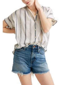 Madewell Central Parkman Stripe Shirt