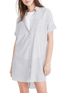 Madewell Central Stripe Shirtdress