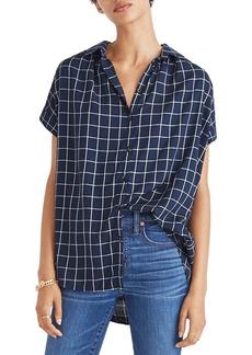 Madewell Central Windowpane Check Shirt