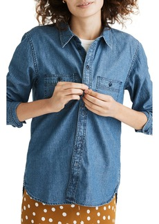 Madewell Chambray Classic Button-Up Shirt