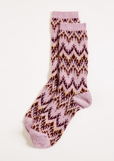 Madewell Chevron Trouser Socks