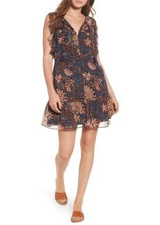 Madewell Chrysanthemum Ruffle Dress