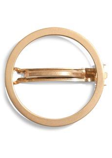 Madewell Chunky Circle Hair Clip