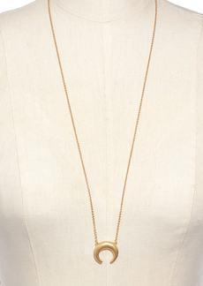 Madewell Chunky Crescent Moon Necklace