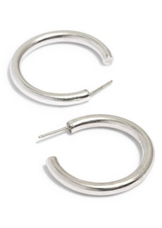 Madewell Chunky Medium Hoop Earrings