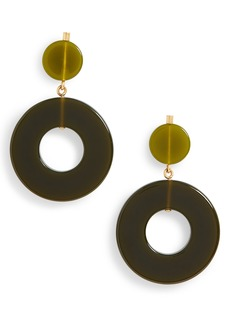 Madewell Circle Statement Earrings