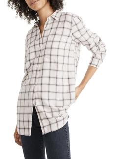 Madewell Classic Plaid Ex-Boyfriend Shirt