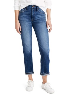 Madewell Classic Straight Jeans Selvedge Edition (Woodcrest Wash)