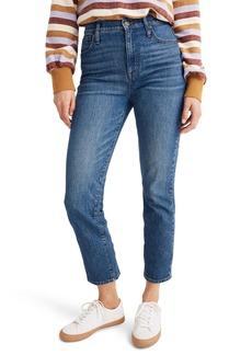Madewell Classic Straight Leg Jeans (Coldbrook)
