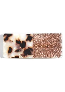 Madewell Colorblock Glitter Acrylic Barrette