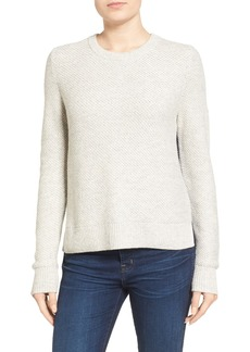 Madewell Colorblock Textured Pullover