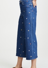 Madewell Confetti Floral Wide Leg Jeans
