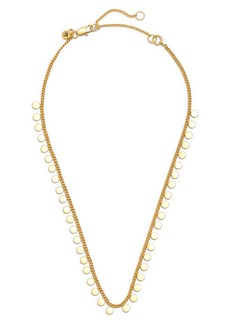 Madewell Connect-the-Dots Choker Necklace