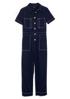 Madewell Contrast Stitch Retro Jumpsuit