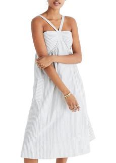 Madewell Convertible Halter Dress