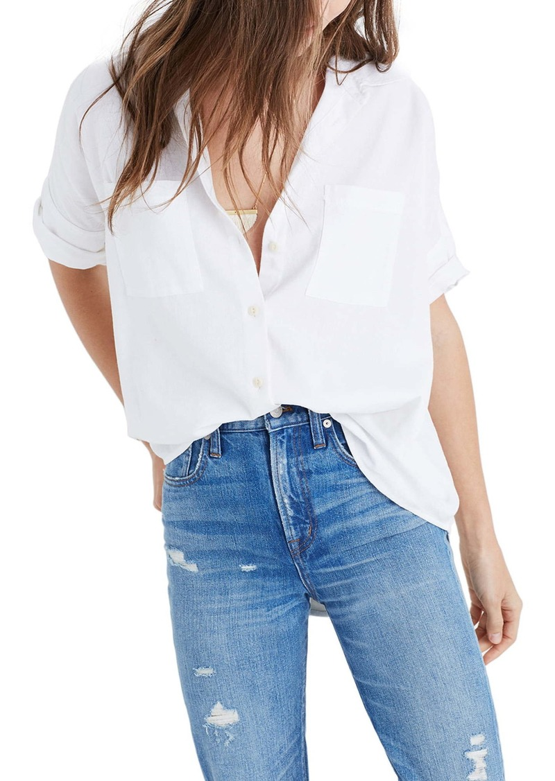 Madewell Cotton Courier Shirt