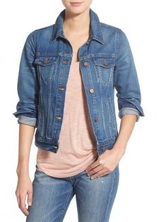 Madewell Cotton Denim Jacket (Pinter Wash)