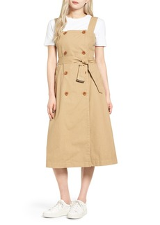 Madewell Cotton Trench Dress