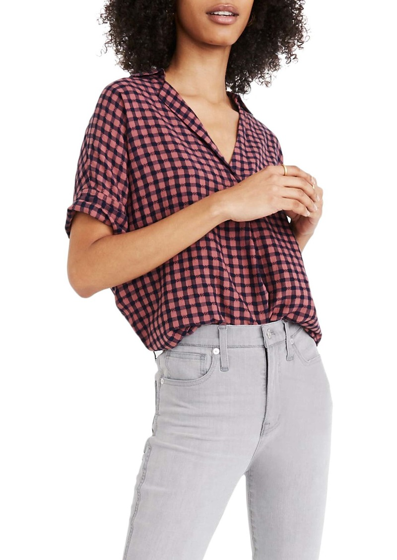 Madewell Courier Button Back Shirt