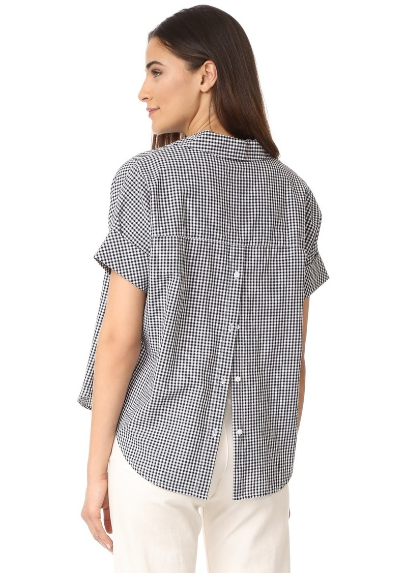 033602416 Madewell Madewell Courier Button Back Shirt   Casual Shirts