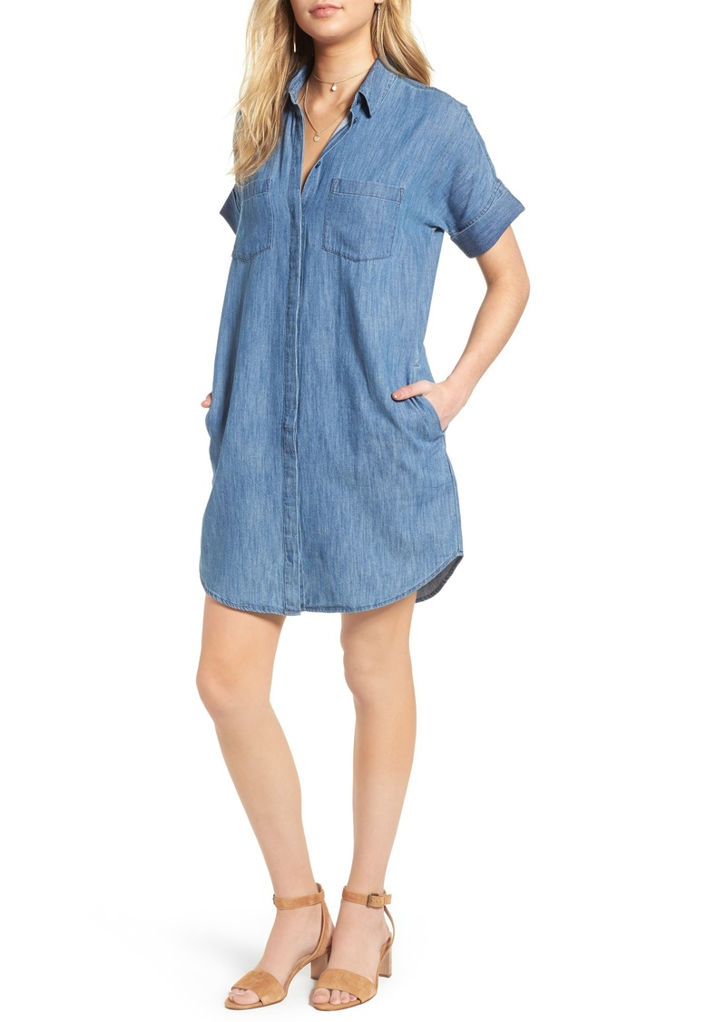 97f024ff54 Madewell Madewell Courier Denim Shirtdress