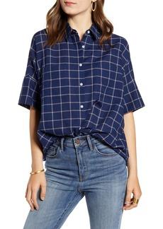 Madewell Courier Double Windowpane Shirt
