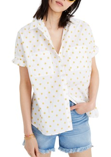 Madewell Courier Sun Embroidered Shirt