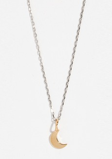 Madewell Crescent Moon Necklace