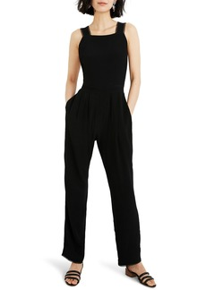 Madewell Crisscross Open Back Jumpsuit