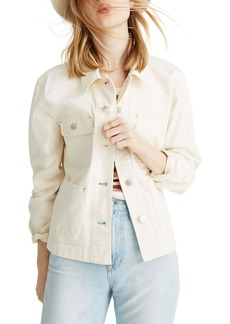 Madewell Crop Chore Jacket