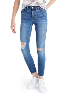 Madewell High Rise Crop Jeans (Bruce Wash)