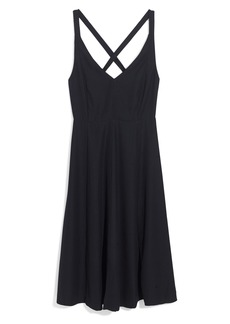 Madewell Cross Back Midi Dress