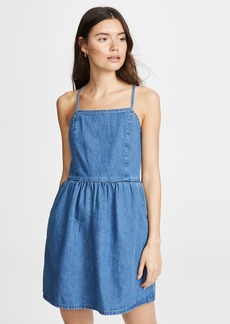 Madewell Crossback Denim Dress
