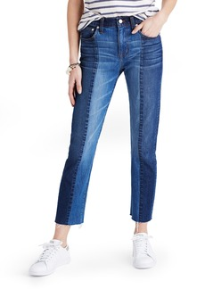 Madewell Cruiser Crop Straight Leg Jeans (Jessa Wash)