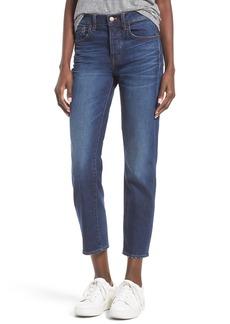 Madewell Cruiser Crop Straight Leg Jeans (Shane Wash)
