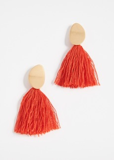 Madewell Curved Tassel Earrings