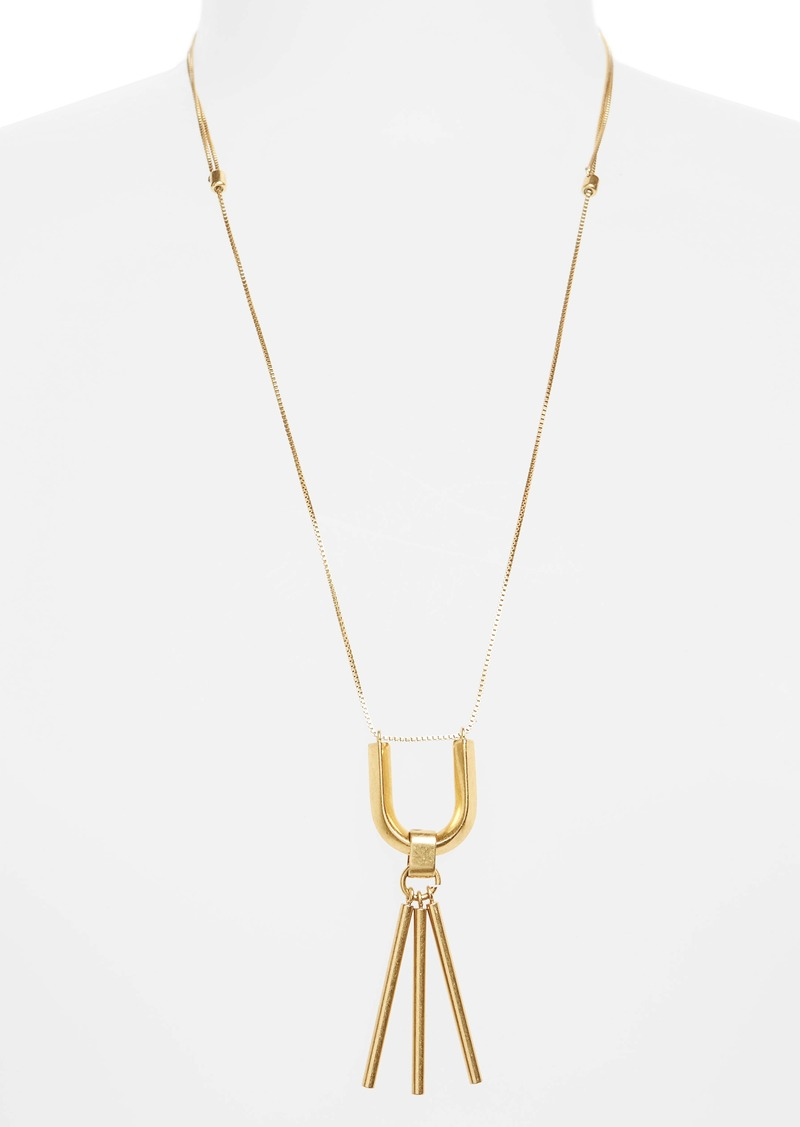 Madewell Curvelink Pendant Necklace
